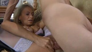 Russian mom with perfect body