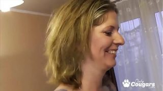 MILF Gets Gang Banged In The Ass By A Group Of Young Studs